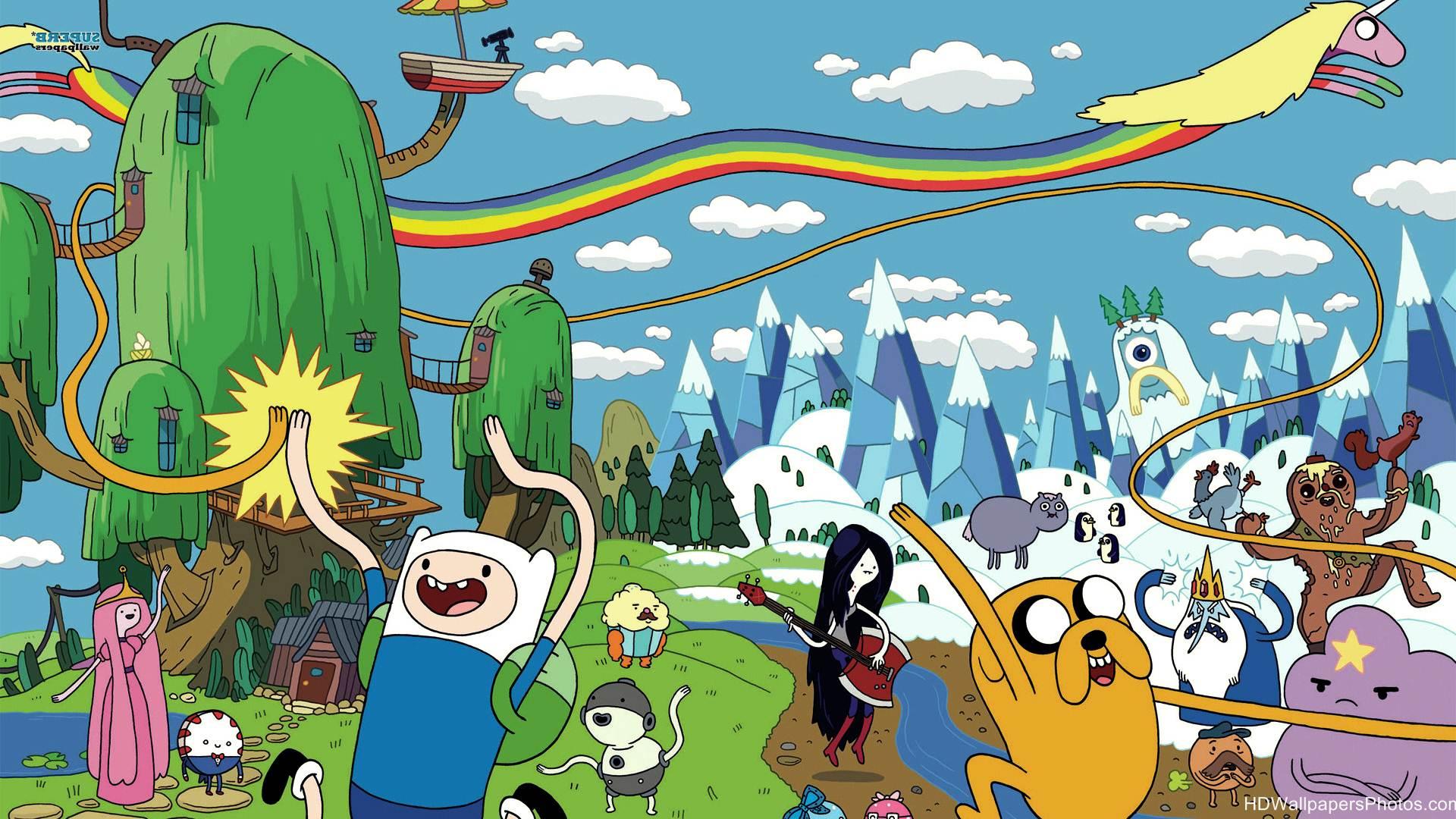 Hd Adventure Time Wallpapers Wallpapersafari