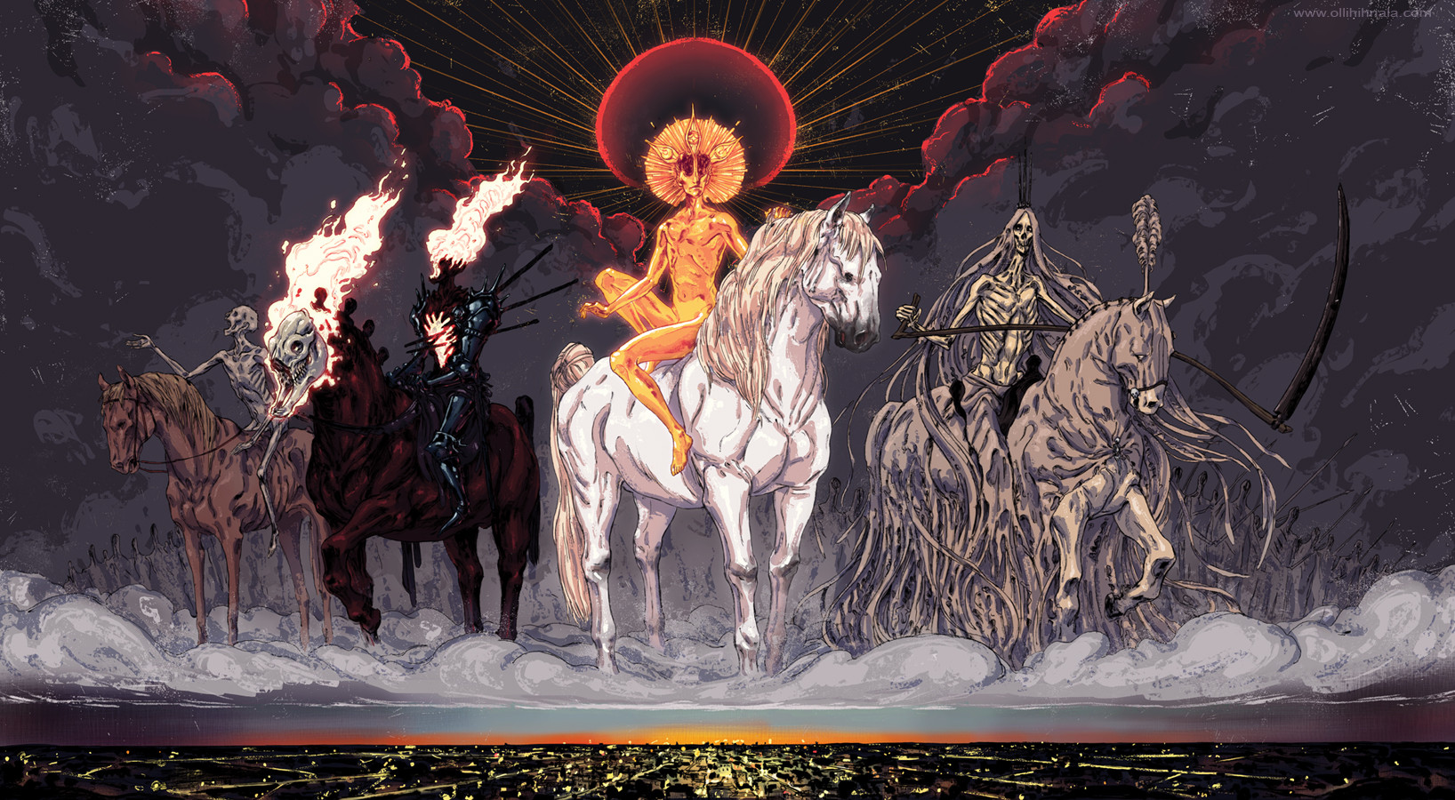 httpkorinticdeviantartcomartthe Four Horsemen of 1636x900