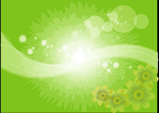 Green Flower Background - WallpaperSafari
