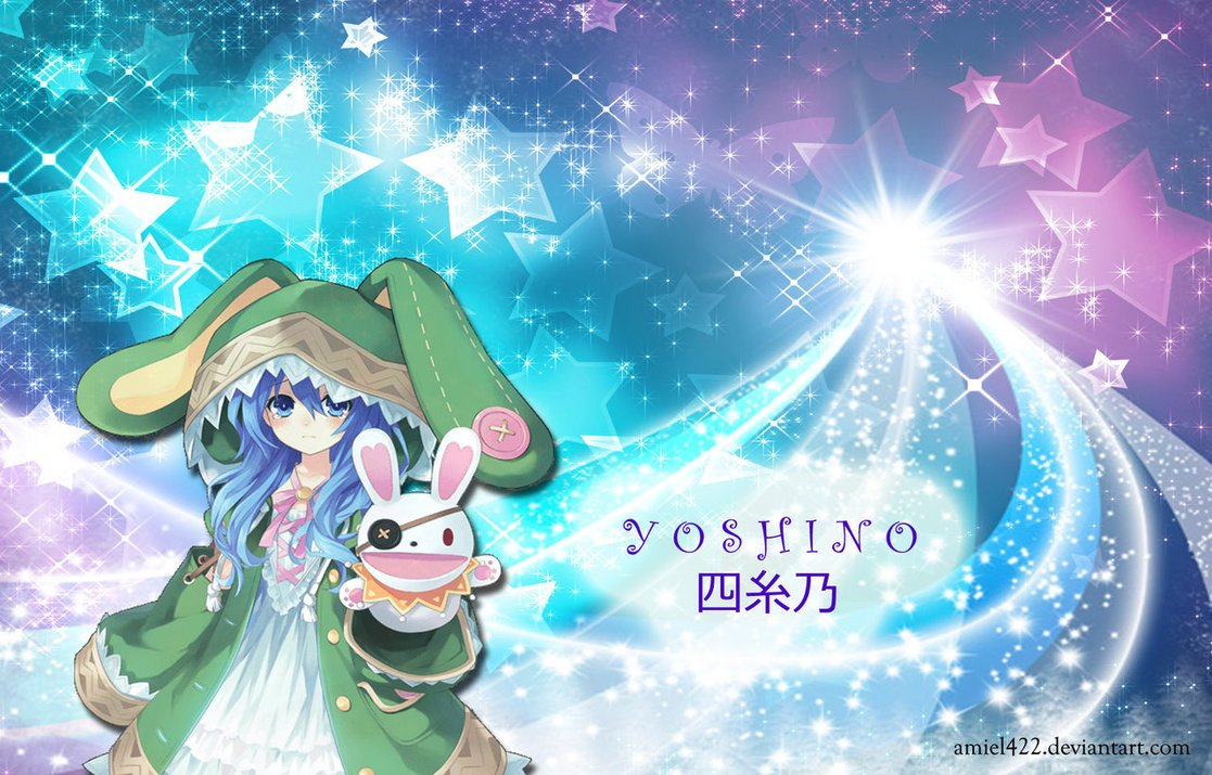Free Download Yoshino Date A Live Wallpaper 1117x715 For Your
