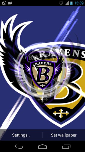 View bigger   Baltimore Ravens Wallpaper for Android screenshot 288x512