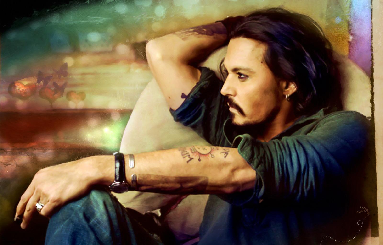 Wallpaper Backgrounds Johnny Depp   HD Celebrity Wallpapers 1600x1025