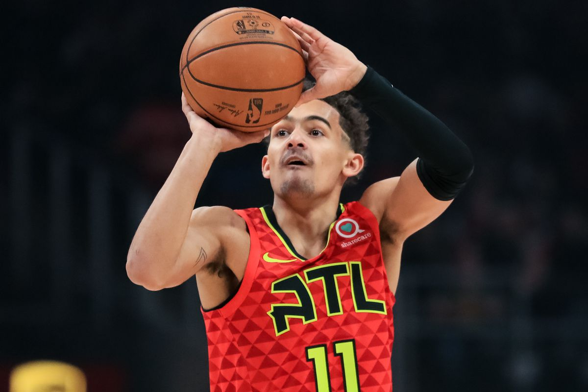 Trae Young set for NBA 3 point contest   Peachtree Hoops 1200x800