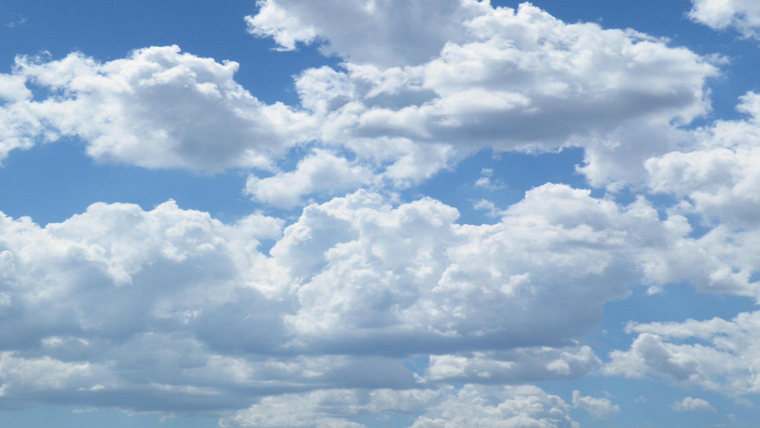 Fluffy Clouds wallpaper 242902 2560x1440