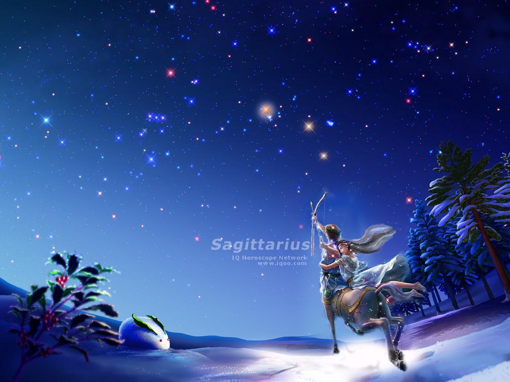 Wallpapers Sagittarius Dreamlike Scenery Nice Zodiac Signs 1024x768