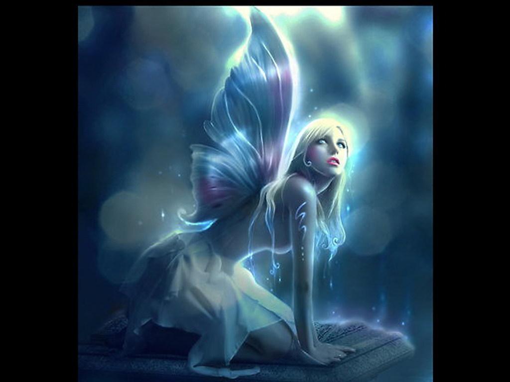 Fantasy Wallpaper Fairy Wallpaper 1024x768
