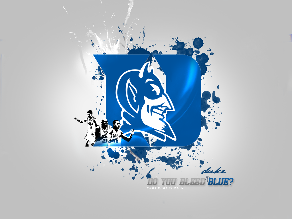 Duke Blue Devils Basketball Desktop Wallpapers Sports Geekery 1024x768