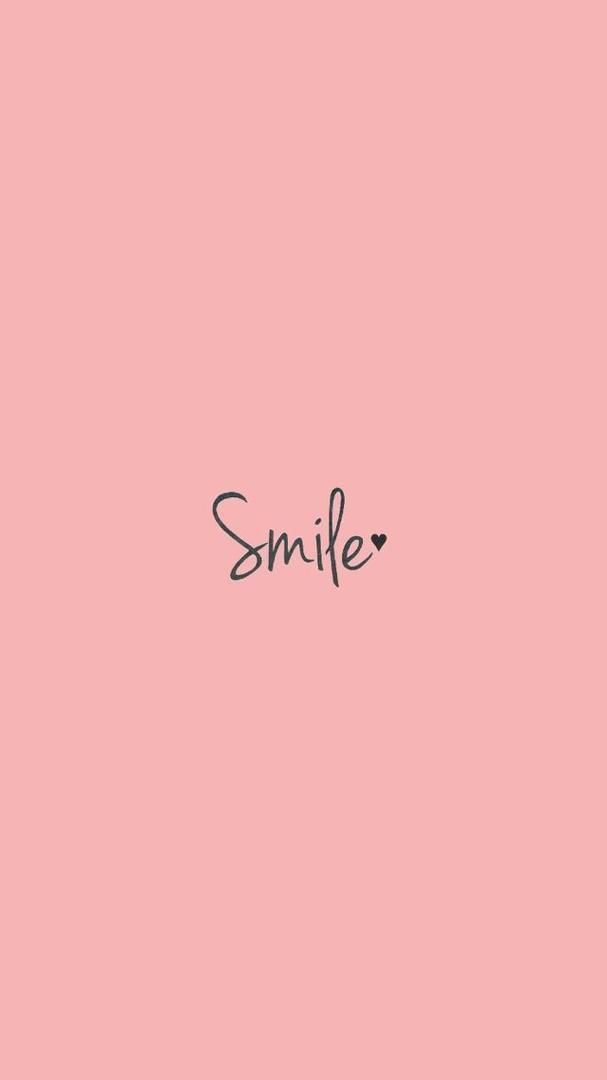 Pin by Ping on Quotes in 2019 Phone wallpaper quotes Smile 607x1080