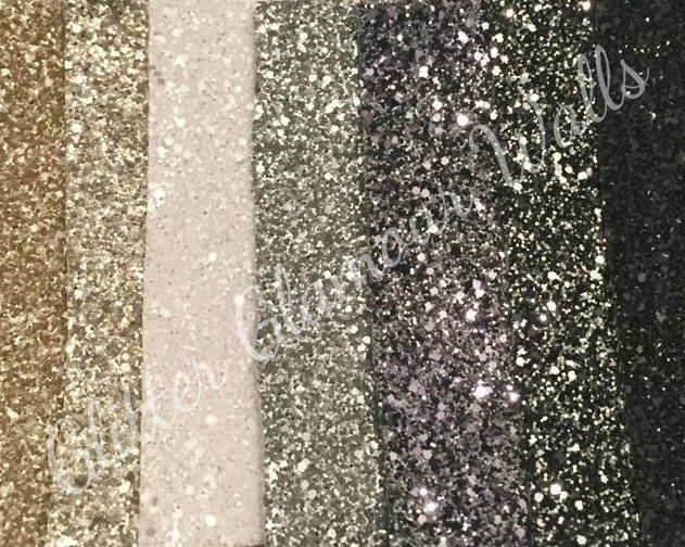 Glitter wallpaper samples eBay 631x504