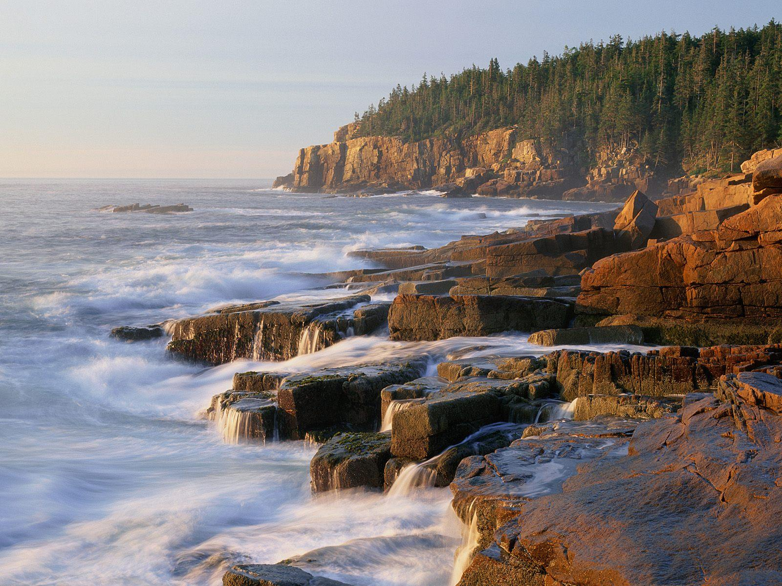 CLIFF ACADIA NATIONAL PARK MAINE WALLPAPER   6181   HD Wallpapers 1600x1200