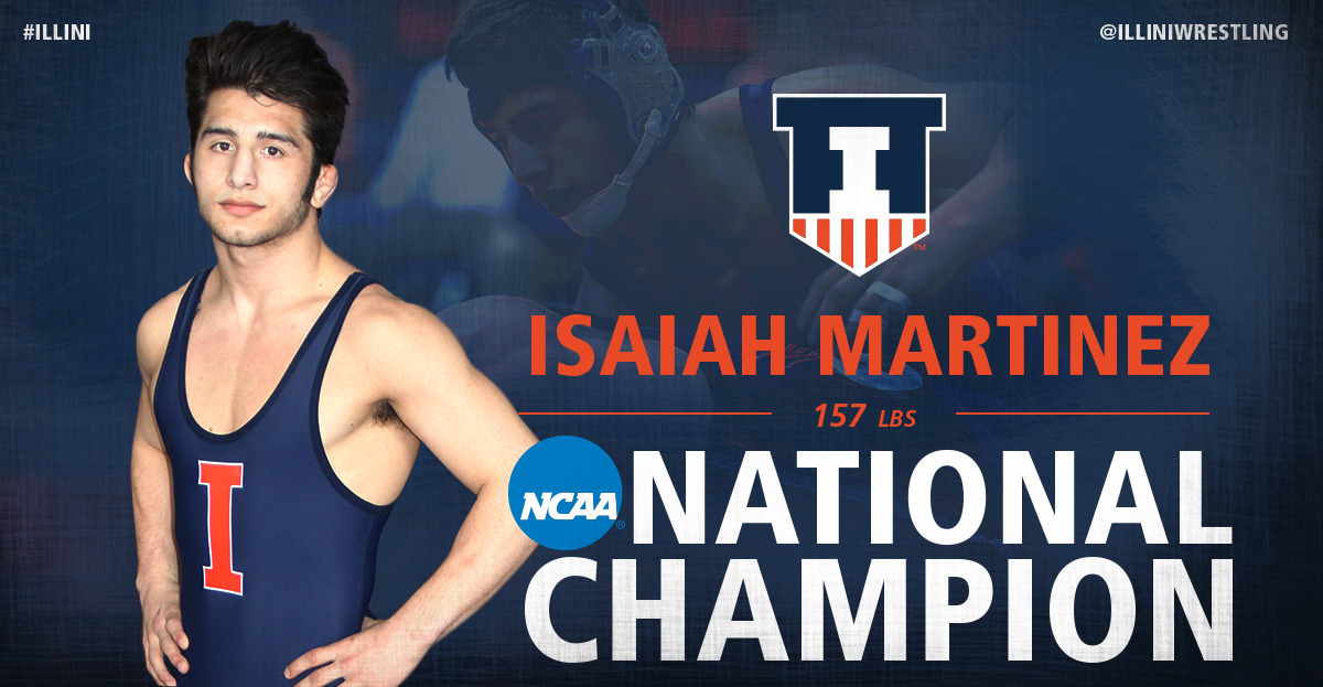 Illinois Athletics   Isaiah Martinez   2015 16   University of 1200x623