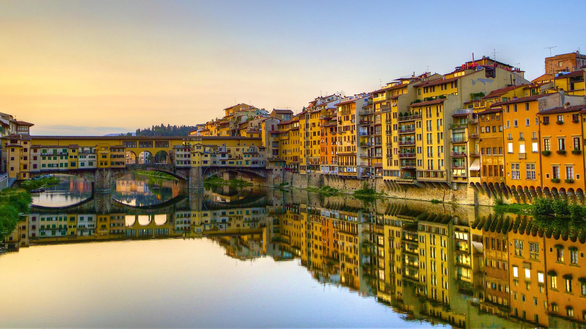 Florence italy hd wallpaper wallpapersafari for Wallpaper italia