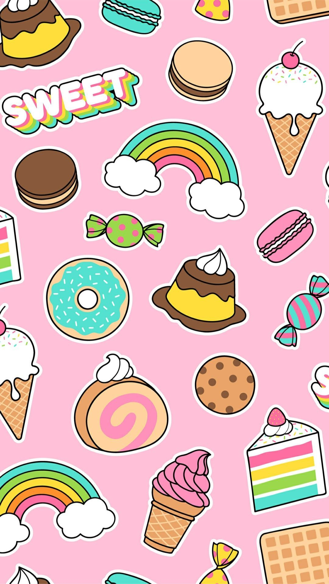 Cute Food Wallpapers Iphone Background Hupages Download Iphone 1080x1920