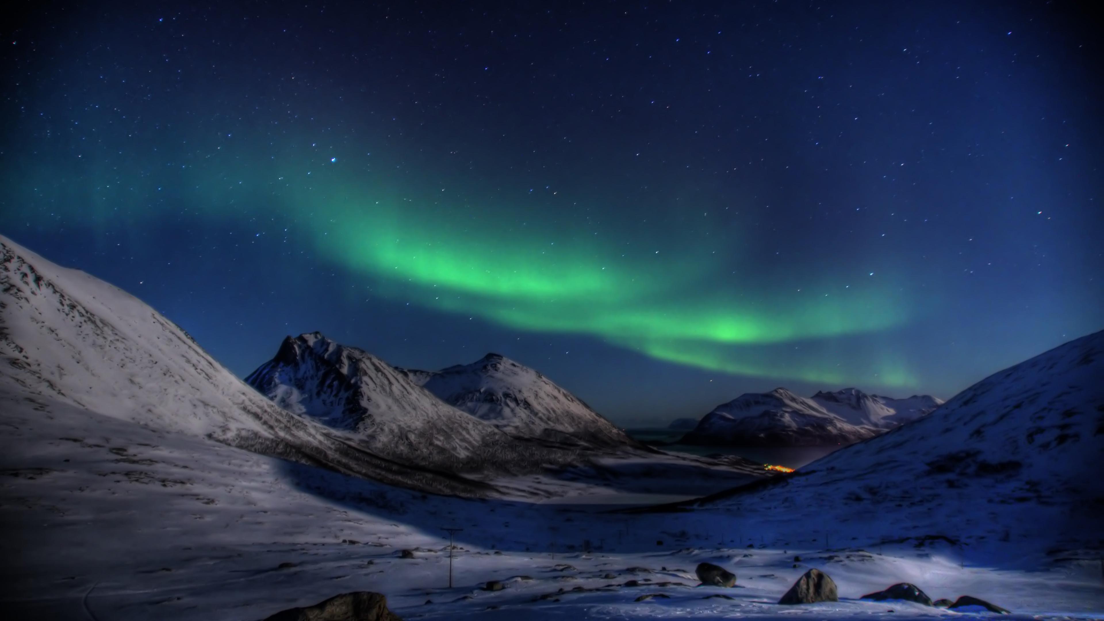 Aurora Borealis 4k Ultra HD Wallpaper and Background ...