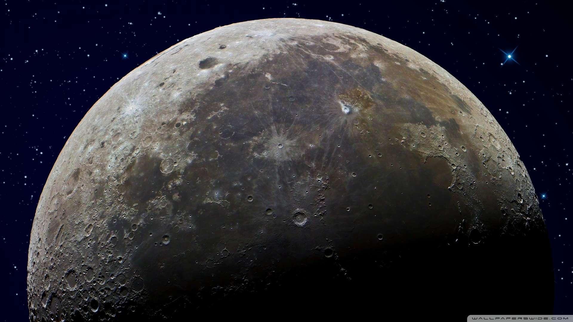[41+] HD Moon Wallpaper 1080p On WallpaperSafari