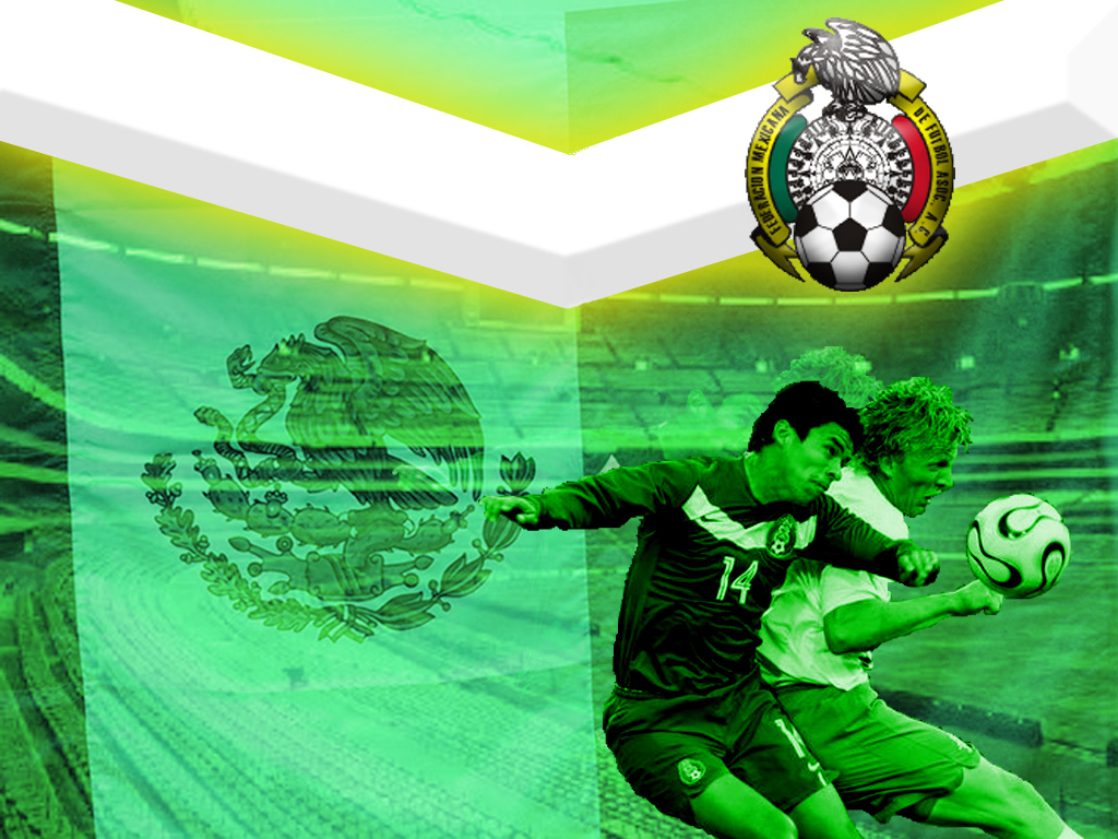Mexico Soccer Team BKGD by Karnbeln 1024x768