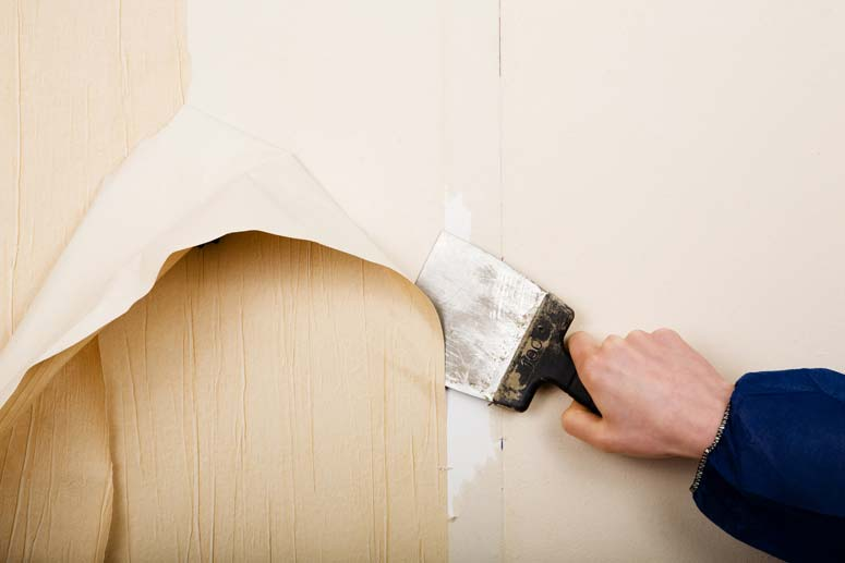 How to Remove Old Wallpaper HomeTips 775x517