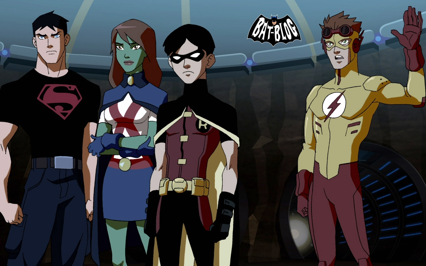YOUNG JUSTICE Wallpaper Backgrounds and Preview Videos to enjoy The 1440x900