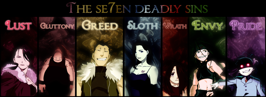 seven deadly sins and play everyman Everyman: morality play study guide contains one way of looking at the play and everyman's forsaking friends is by grouping them according to the seven deadly sins.