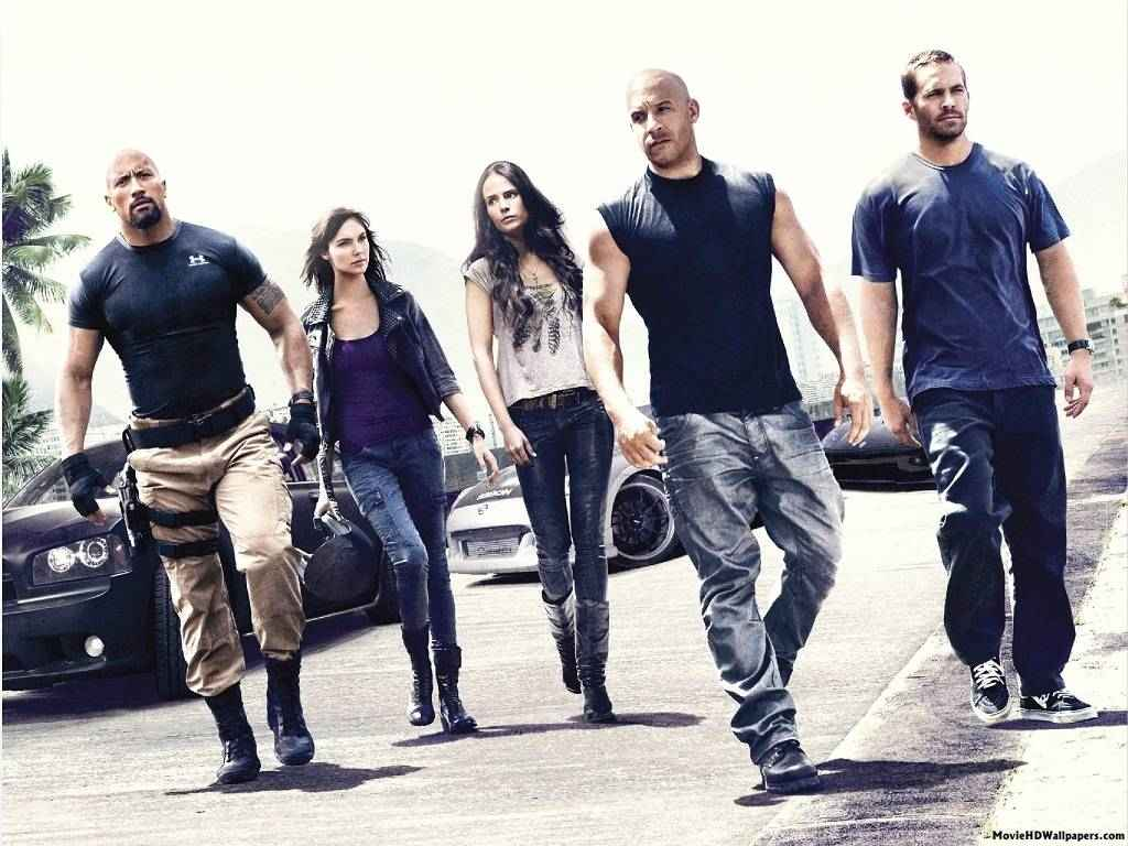 Fast and Furious 7 HD Wallpapers 1024x768