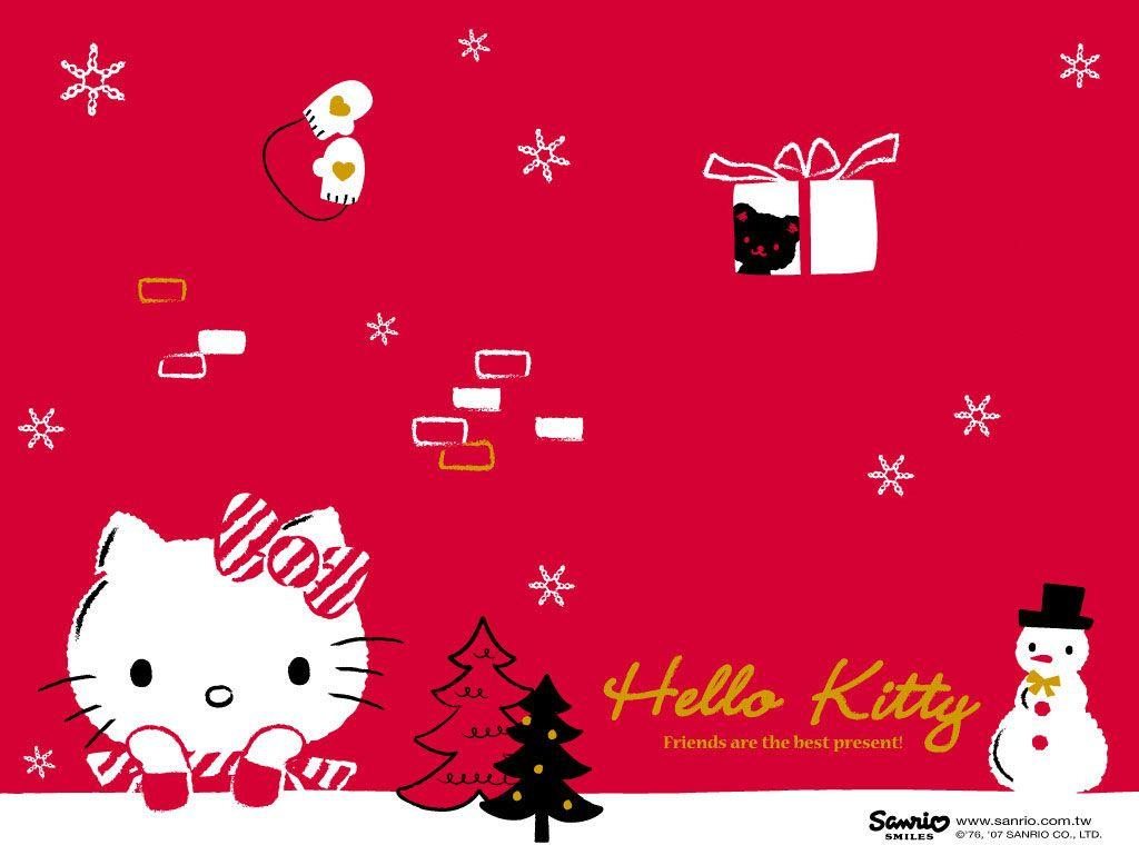 Hello Kitty Winter Wallpapers 1024x769