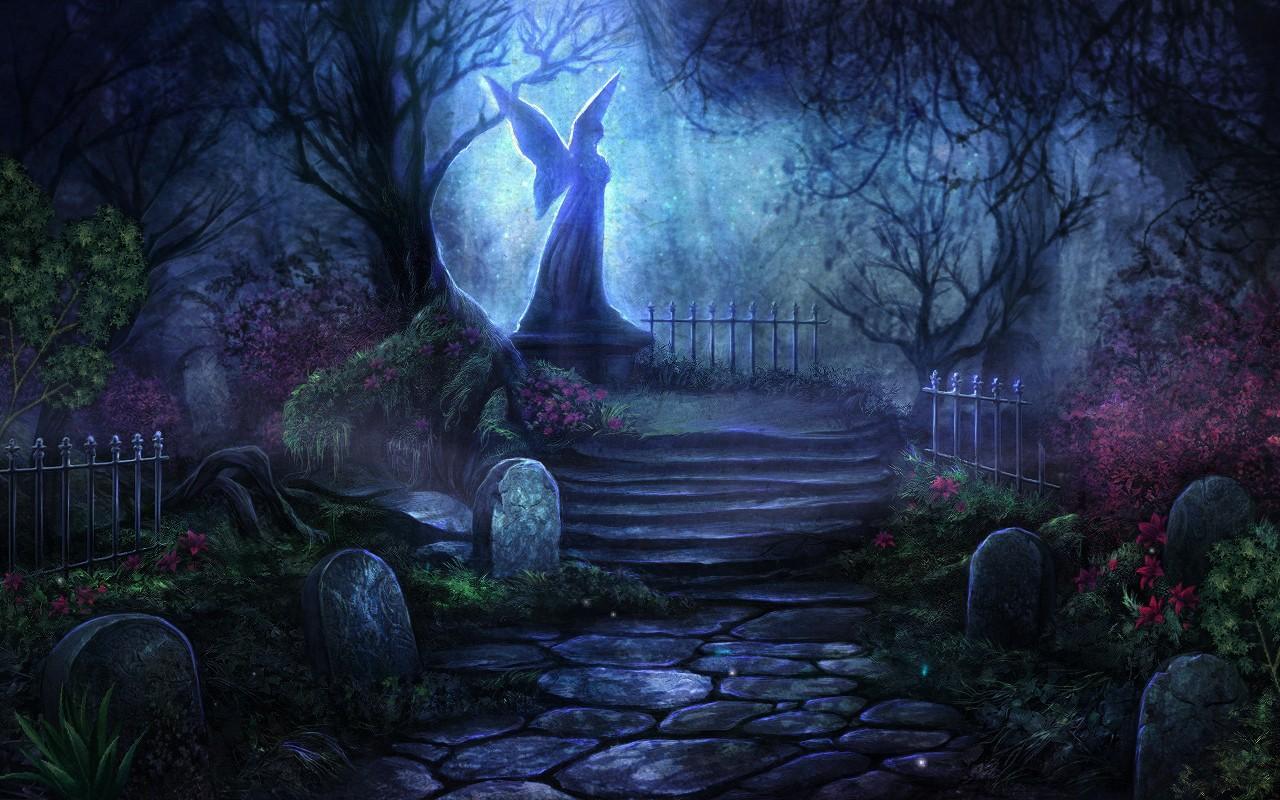 Tombstones Halloween