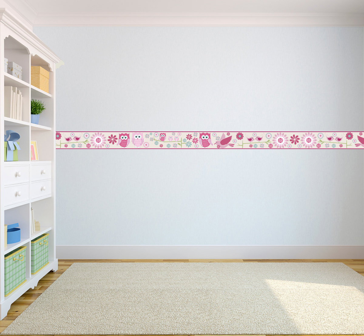 Download Wallpaper Borders Childrens Kids Nursery Boys Girls Bedroom ...