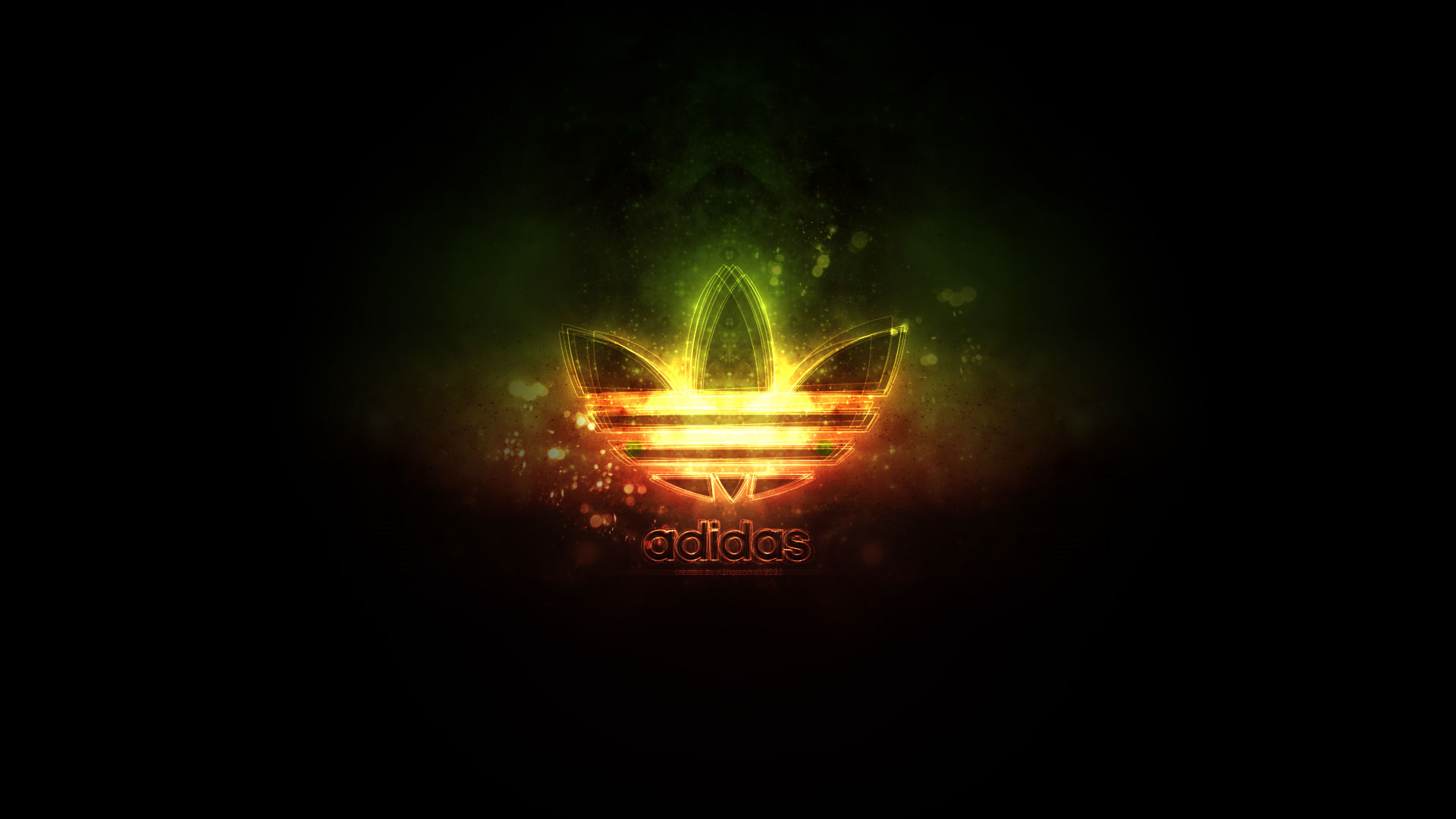Wallpapers   Adidas Neon Lights Logo 1920x1080 wallpaper 1920x1080