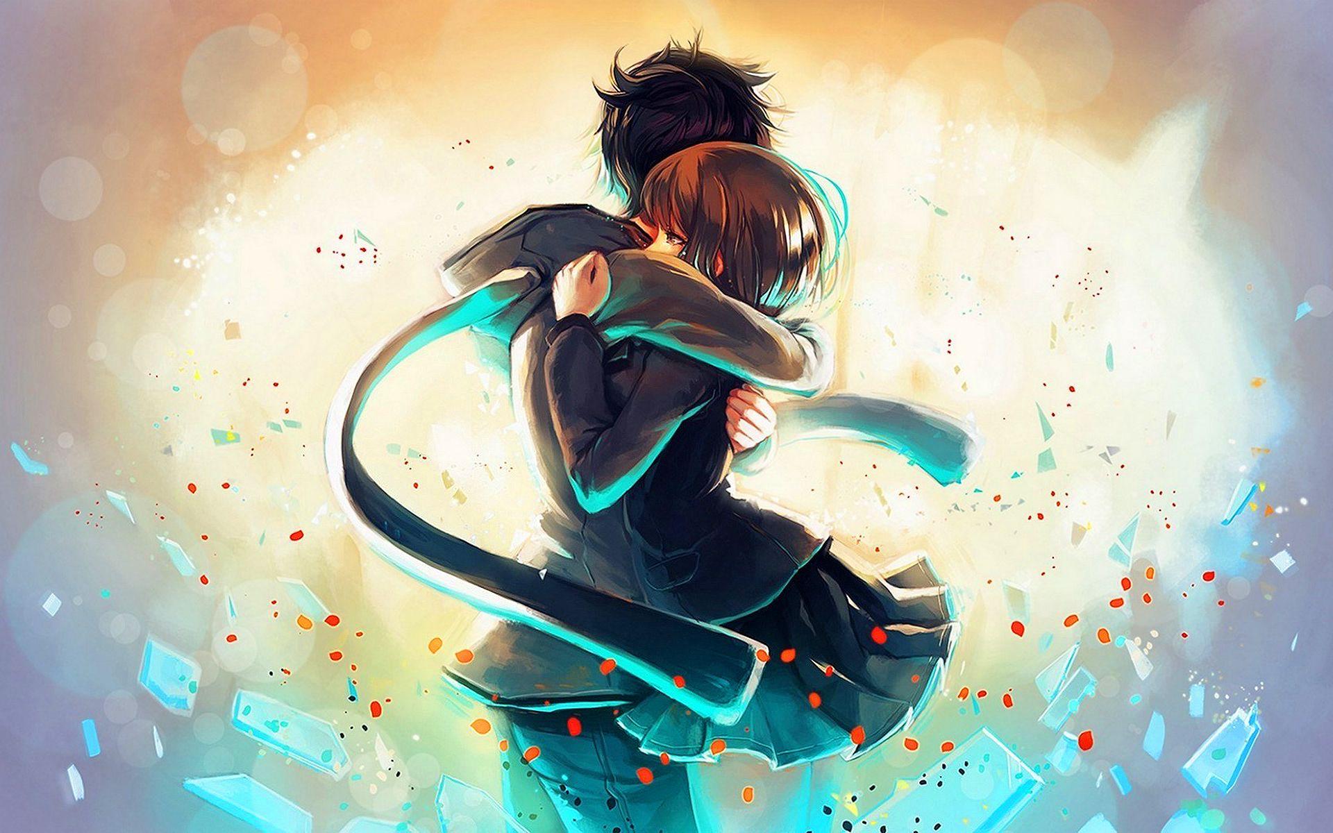 27+] Anime Boy And Girl Wallpapers on ...