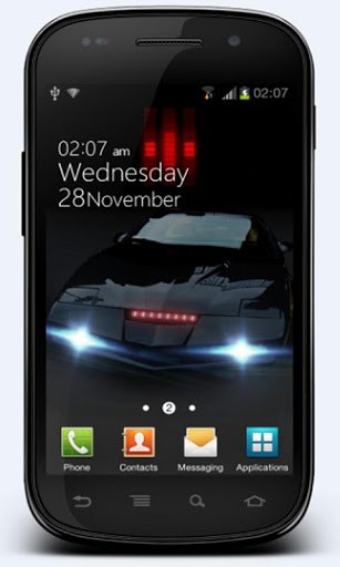 Knight Rider Live Wallpaper App for Android 307x512