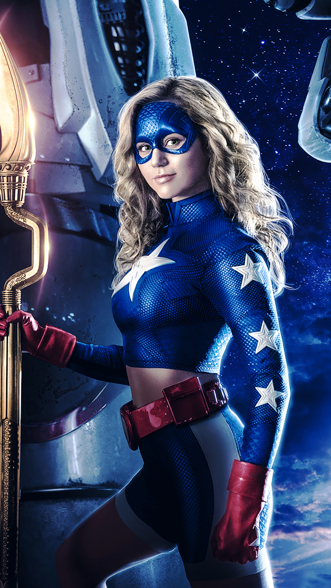 Stargirl DC Universe Wallpaper HD TV Series 4K Wallpapers Images 1082x1922