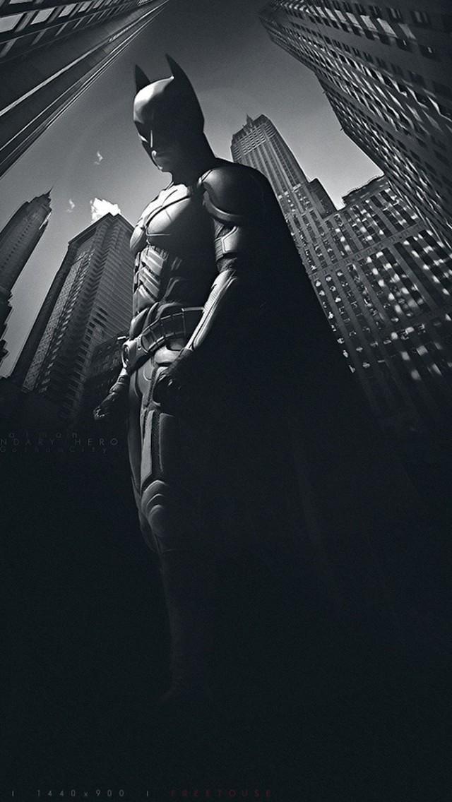 Batman In The Dark Iphone 5 5s 5c Wallpaper Pictures 640x1136
