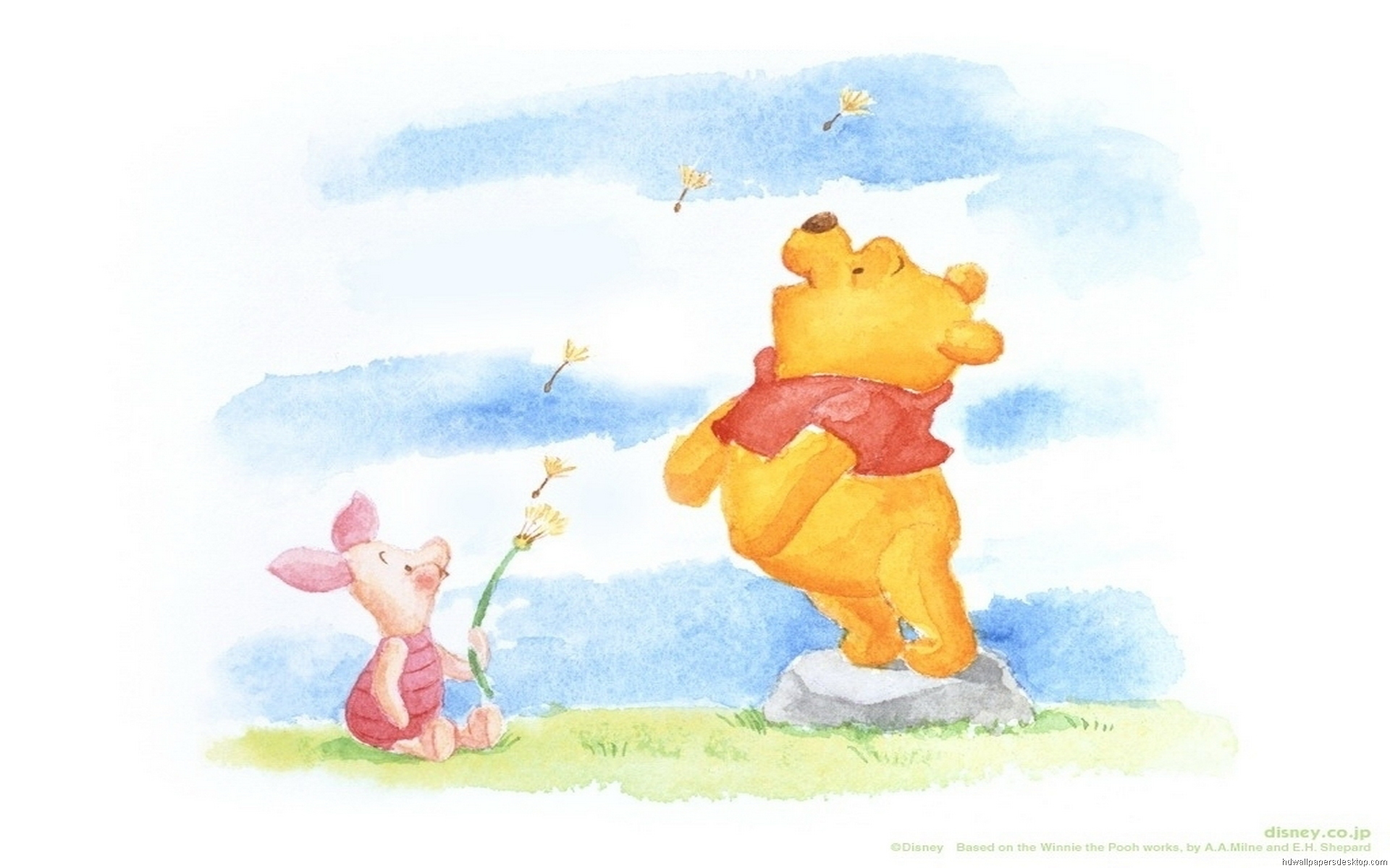 Disney Wallpapers Hd Desktop Winnie The Pooh Wallpaper 1920x1200