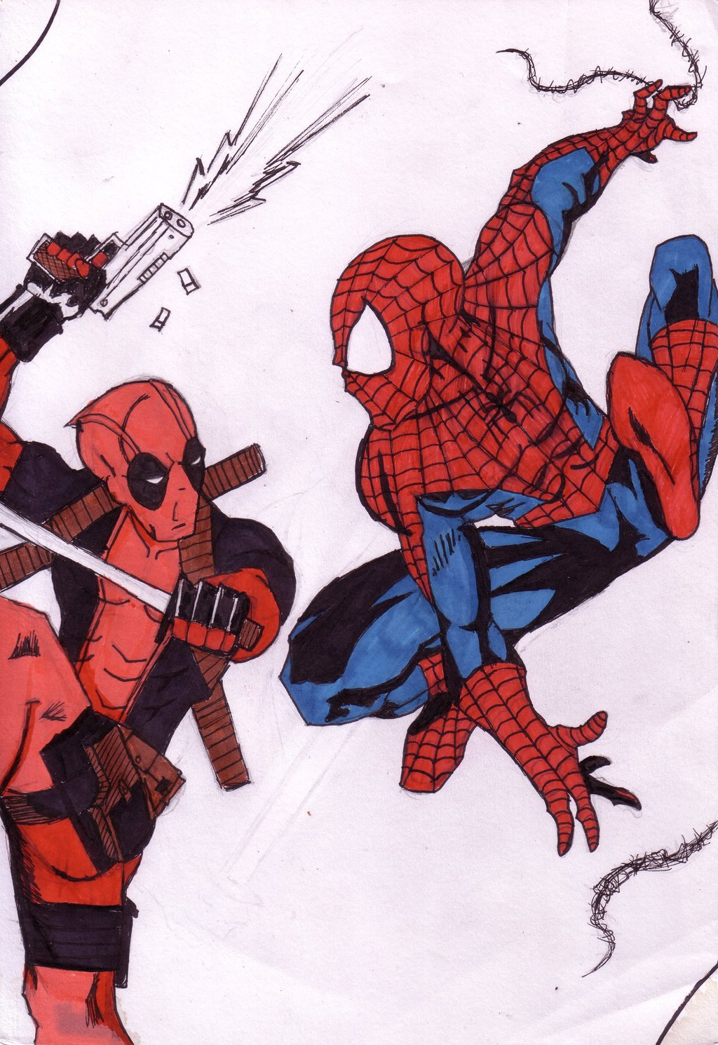 Deadpool Vs Spiderman Wallpaper Images Pictures Becuo 1024x1490