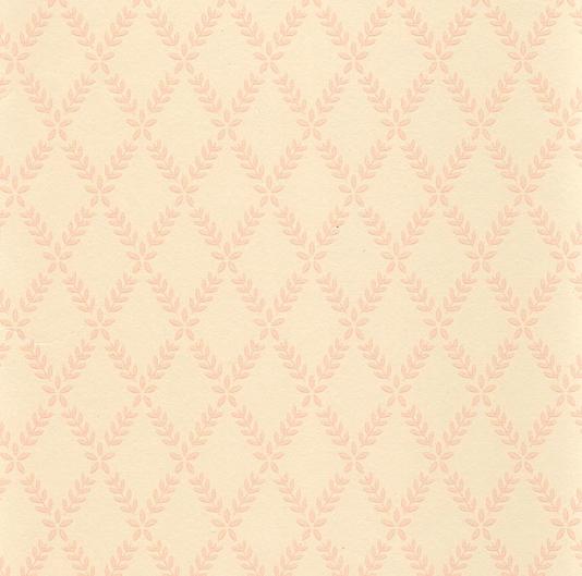 Laurel Trellis Wallpaper Wallpaper with small leaf pink trellis on 534x529
