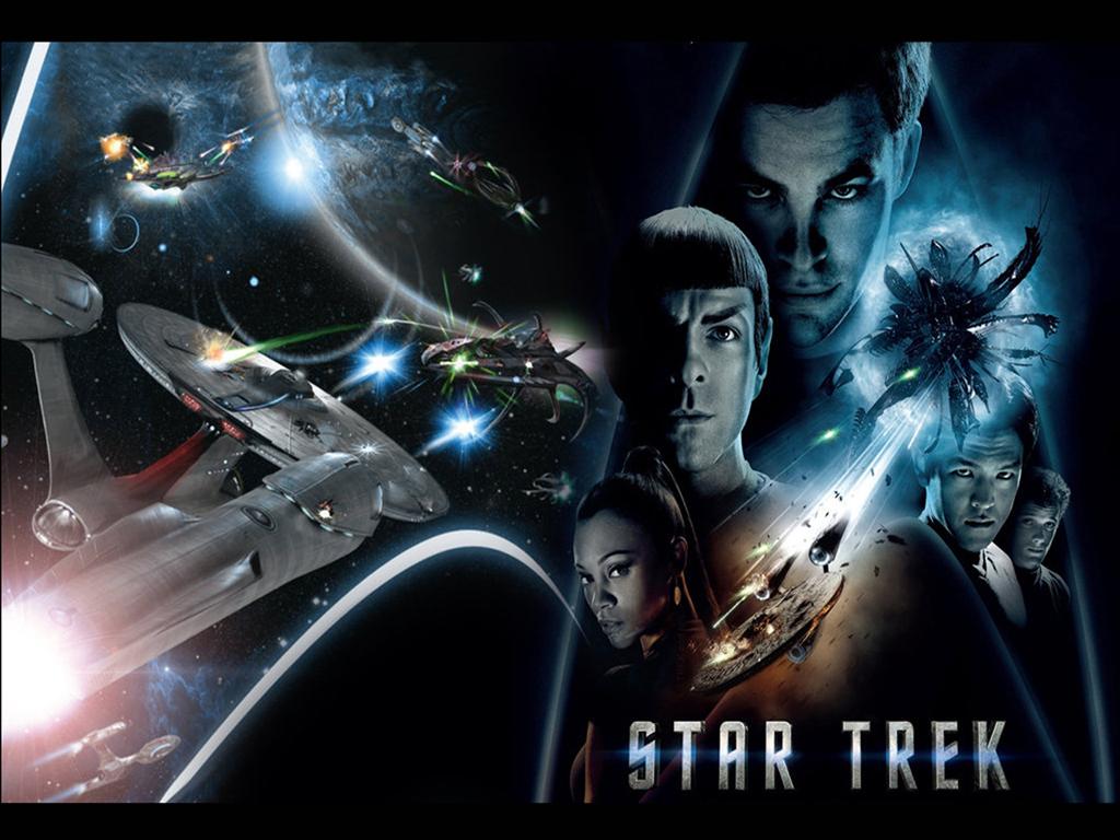 Trek 2009 Movie Wallpaper   Star Trek computer desktop wallpaper 1024x768