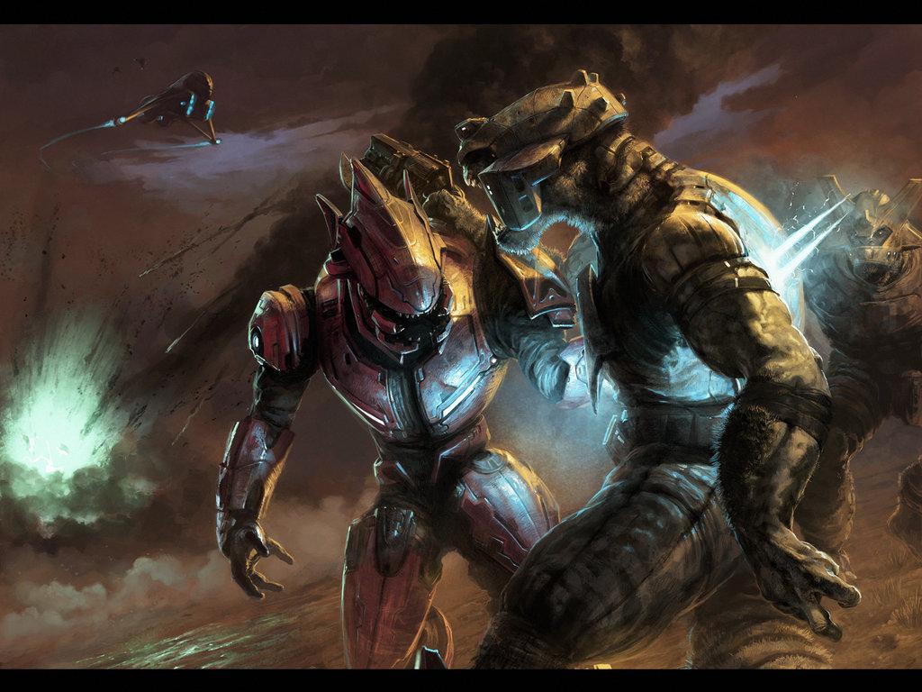 Halo Wars Elite Wallpaper 5238 Hd Wallpapers imagescicom 1024x768