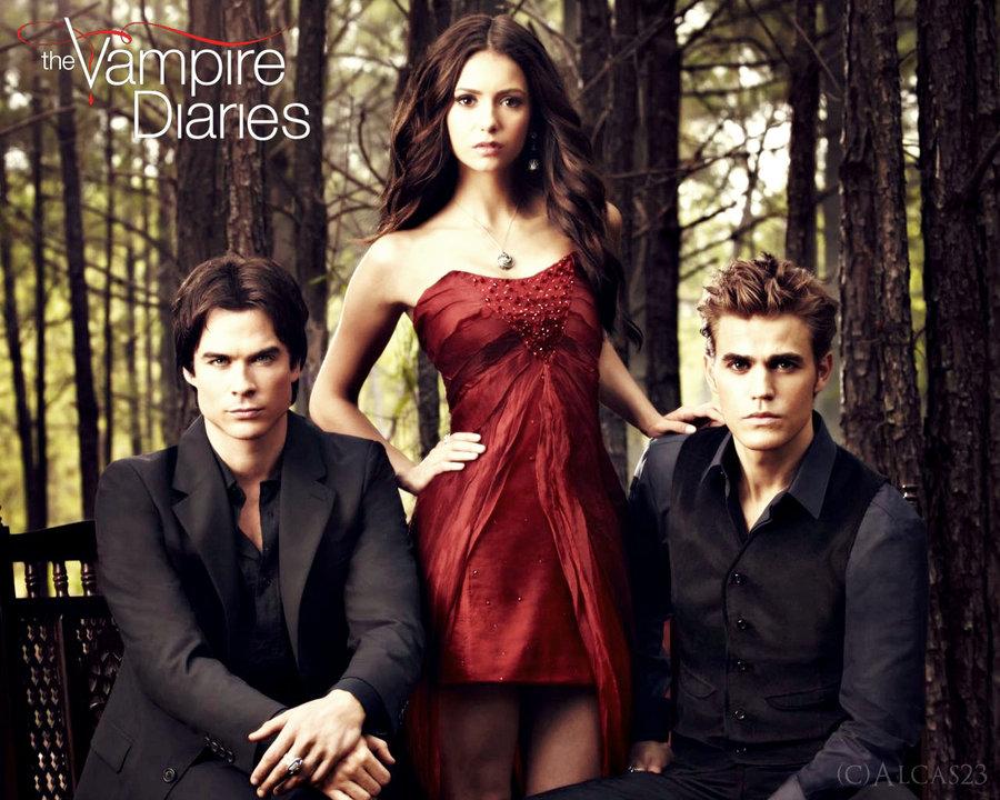 Wallpaper Vampire Diaries wallpaper hd