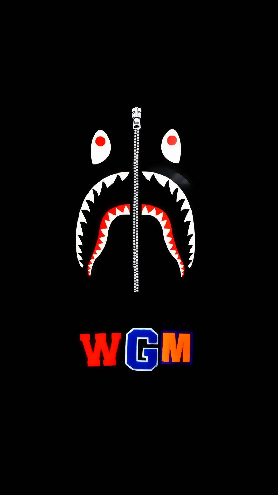 BAPE Shark Wallpapers   Top BAPE Shark Backgrounds 1080x1920