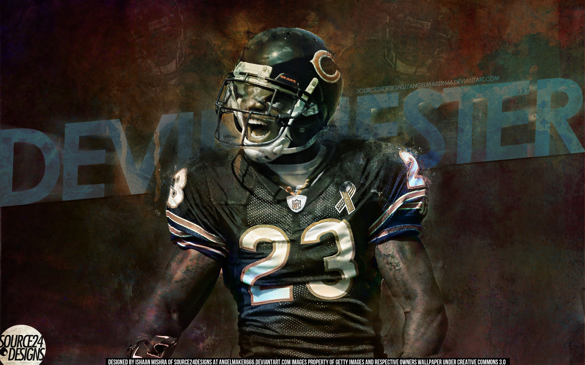 Wallpapers   Devin Hester Chicago Bears 1920x1200 wallpaper 1920x1200