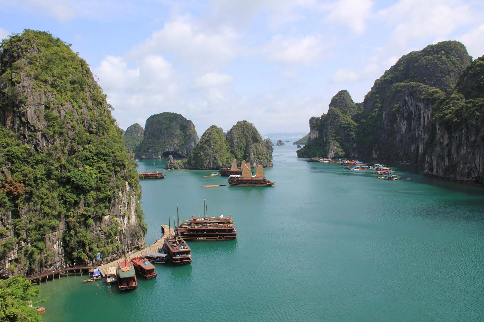Halong Bay Vietnam Desktop Wallpapers 1600x1066