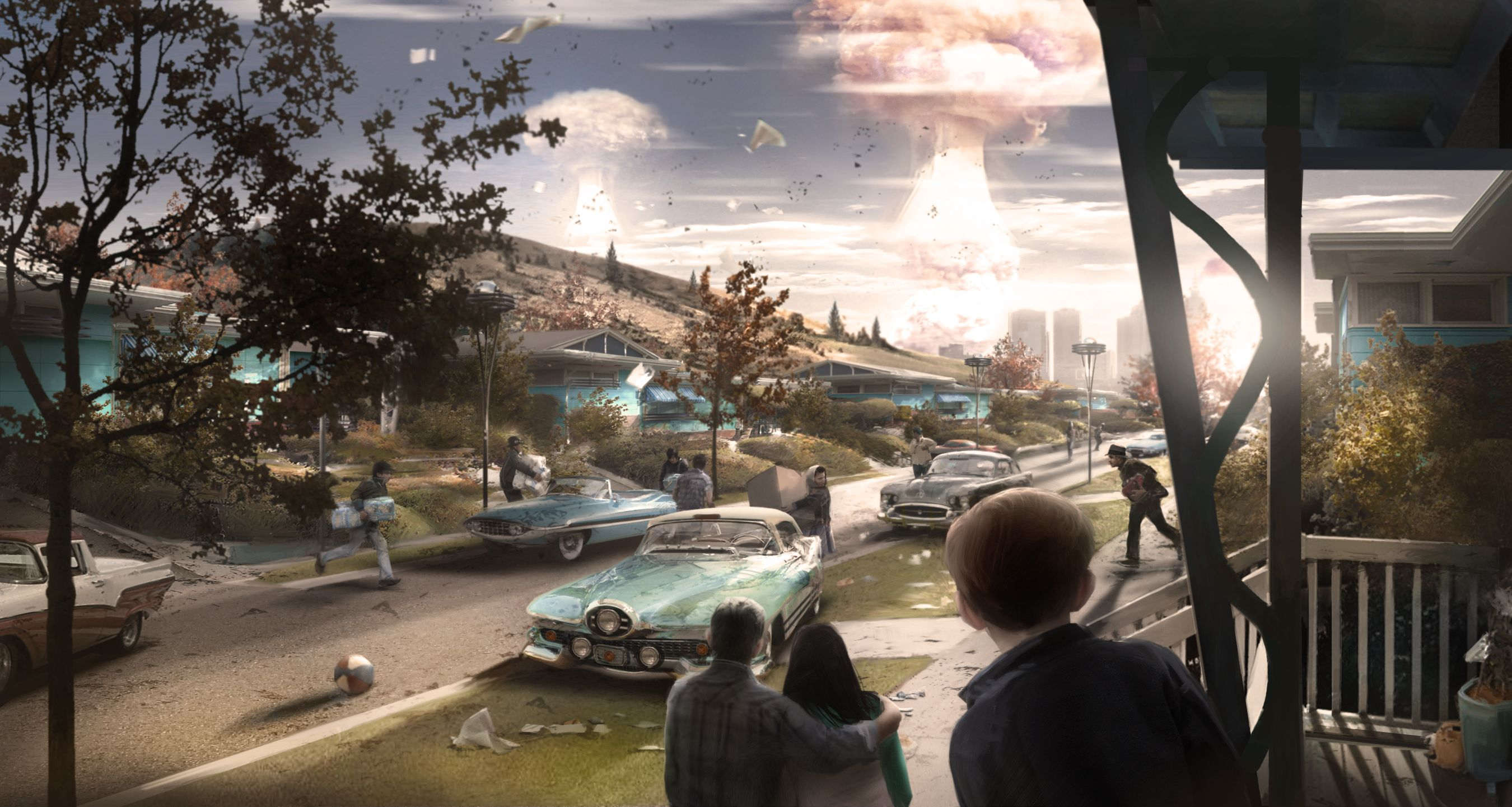 Fallout 4s concept art is wallpaper worthy Polygon 2700x1442