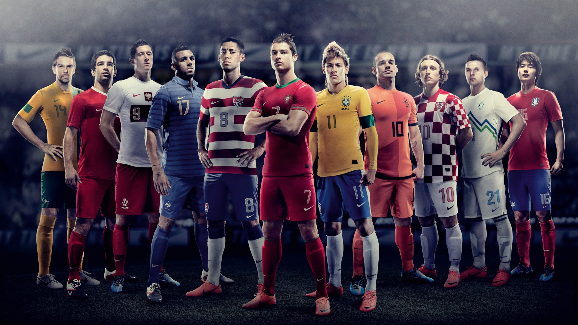 EURO 2012 Nike Football Wallpapers HD 1920x1080