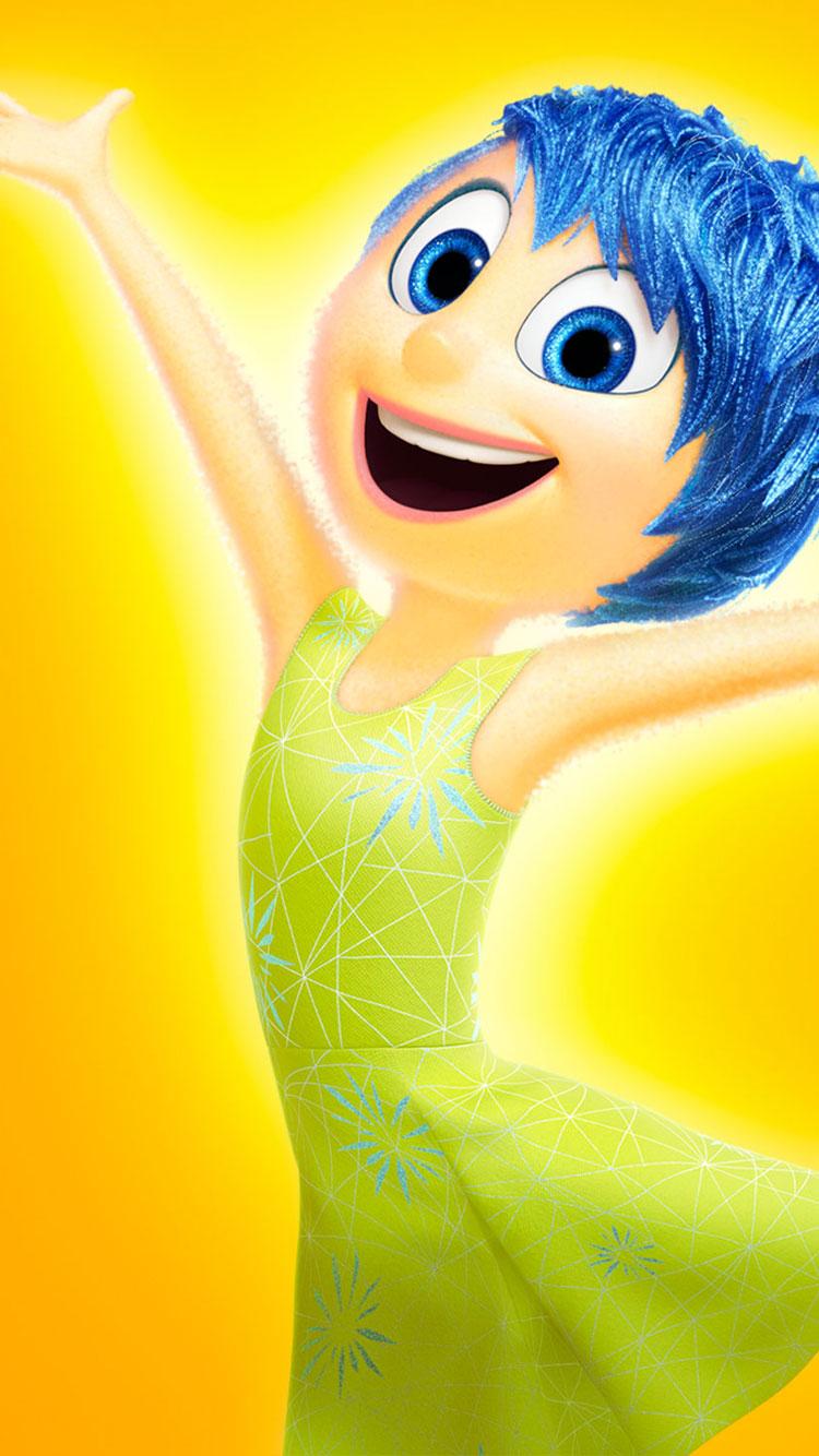 Disney Movie Inside Out 2015 Desktop iPhone 6 Wallpapers 750x1334