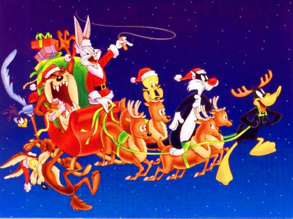 christmas cartoon picture christmas cartoon wallpaper 1024x768