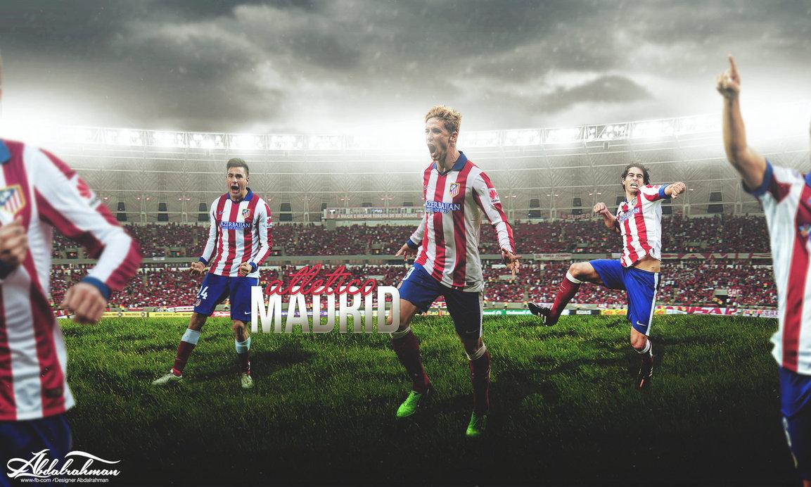 wallpaper atletico madrid 2015 by Designer Abdalrahman 1153x692