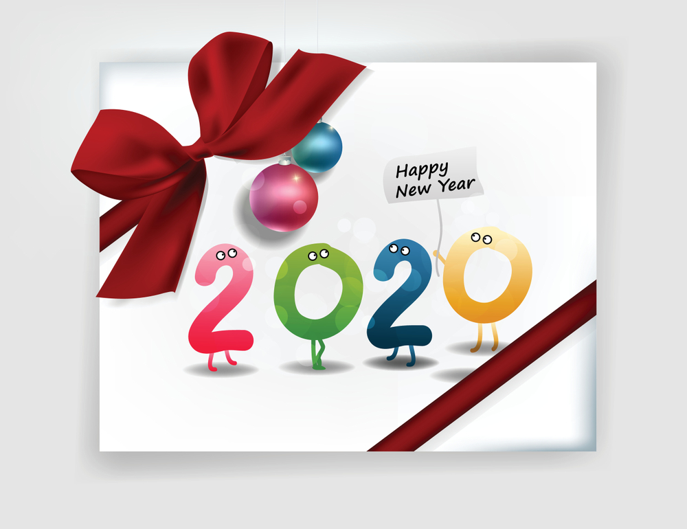 Merry Christmas and Happy New Year 2020 Wishes   HappyNewYear2020 1000x770