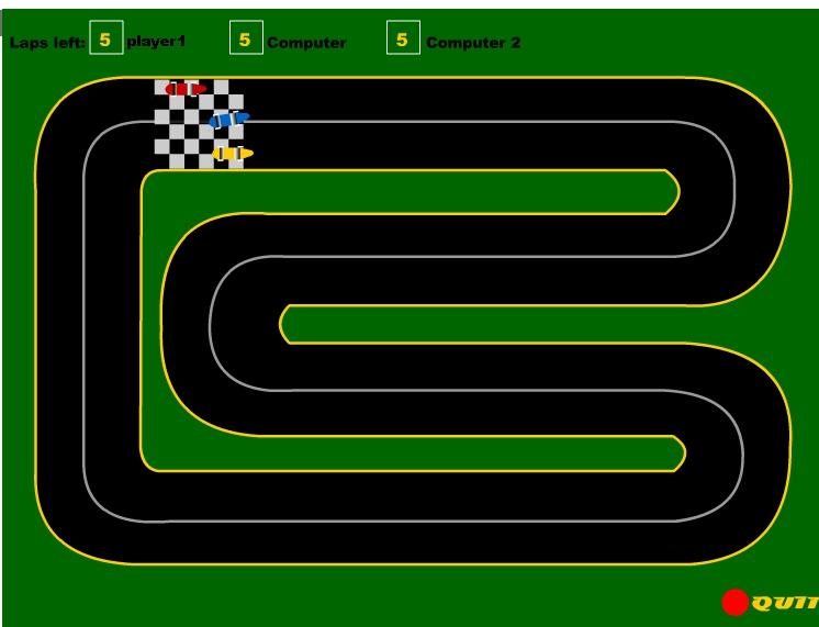 Race Track Wallpaper Wallpapersafari