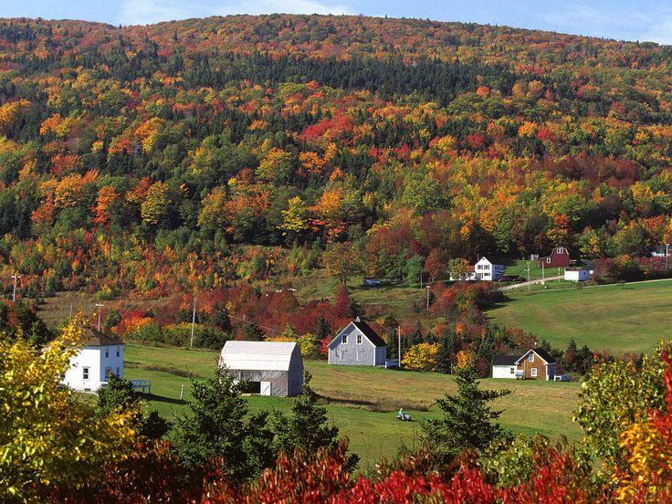 Autumn in Cape Breton Nova Scotia BARN Pinterest 736x552