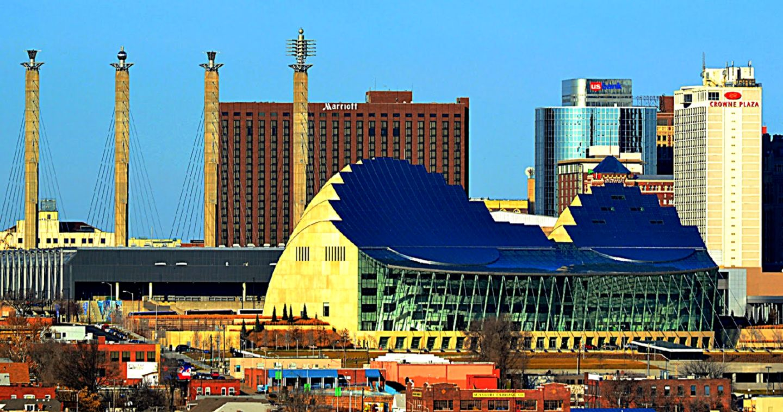 Kansas City Skyline Desktop Wallpaper HD Wallpapers Gallery 1440x758